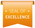 Horizon 2020 seal of excellence logo