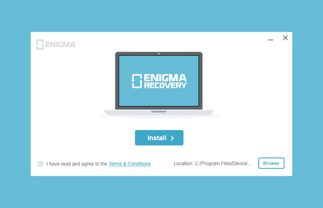 Download and install Enigma recovery