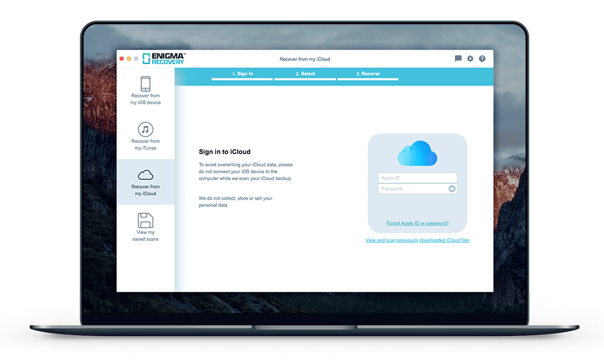How to Recover & Restore Files in an iCloud Backup | Enigma